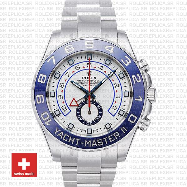 Rolex Yacht-Master II 44mm Stainless Steel | Rolex Replica