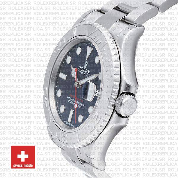 Rolex Yacht-Master Blue Dial Stainless Steel Rolex Replica