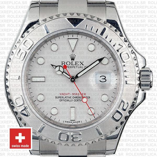 Rolex Yacht Master Steel Blue 40mm 116622 6