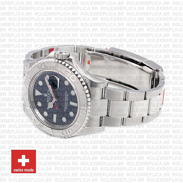 Rolex Yacht-Master Platinum 904L Stainless Steel Blue Dial 40mm with Oyster Bracelet